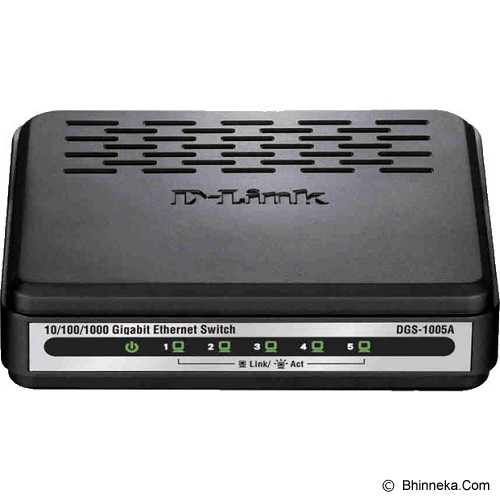 D-LINK Switch Unmanaged [DGS-1005A] - Switch Unmanaged